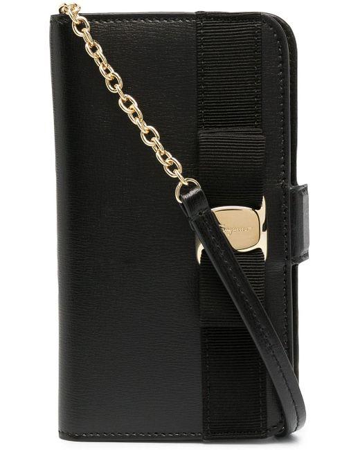 Ferragamo ヴァラリボン Iphone 11 Pro ケース Black