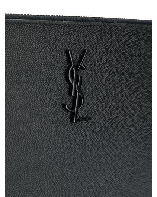 Чехол Для Ipad С Логотипом Saint Laurent для него, цвет: Black