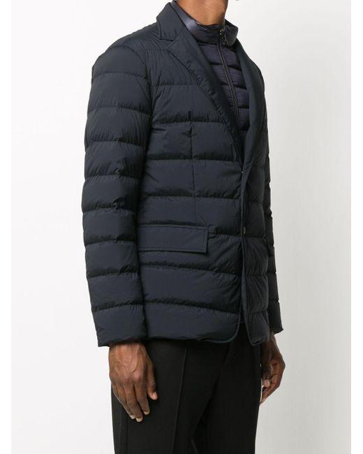 メンズ Moncler パデッドジャケット Blue