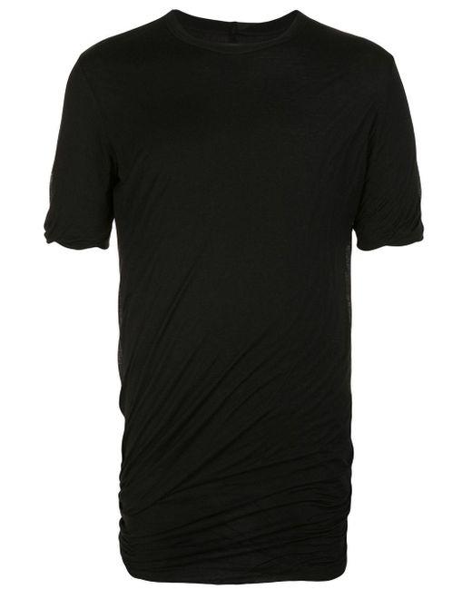 メンズ Rick Owens シャーリング Tシャツ Black