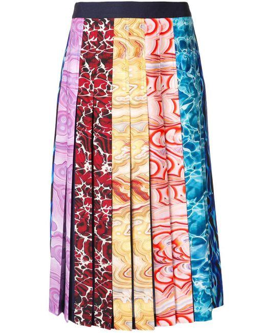 Mary Katrantzou ストライプ スカート Multicolor