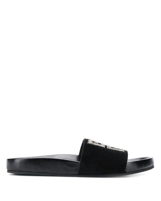 Givenchy Slippers Met Pailletten in het Black