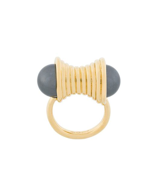 Wouters & Hendrix | Metallic Curiosities Pearl Statement Ring | Lyst