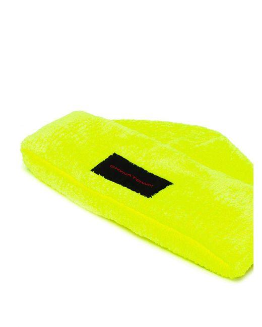 Gorro con parche Chynatown Alexander Wang de color Yellow