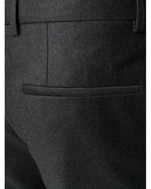 メンズ BOSS by Hugo Boss チェック ボタンジャケット Black