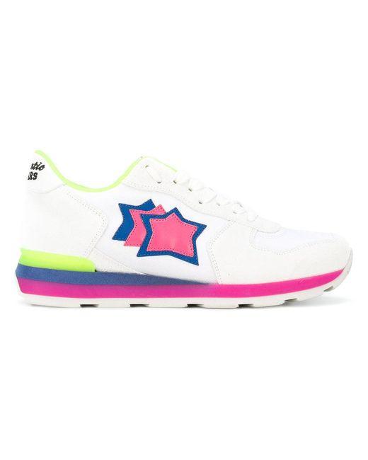 Atlantic Stars - White Vega Sneakers - Lyst