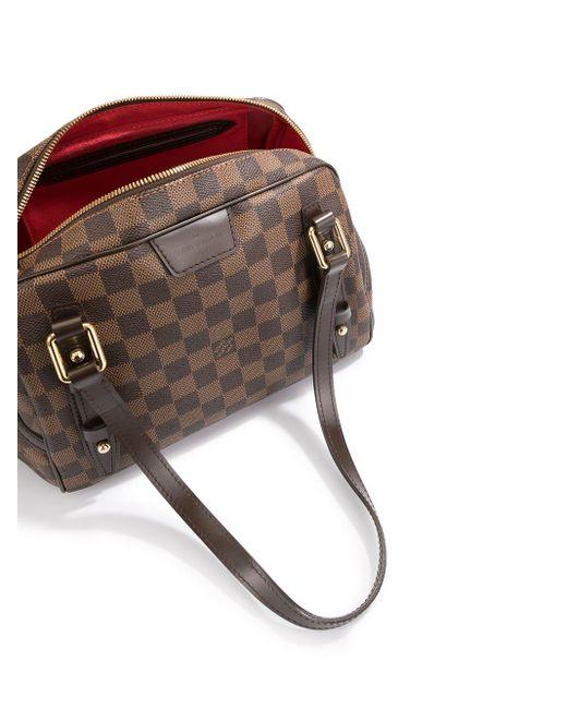 Сумка-тоут Rivington Pm Pre-owned Louis Vuitton, цвет: Brown