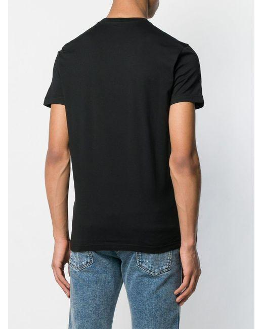 T-shirt Punk'n'Roll DSquared² pour homme en coloris Black