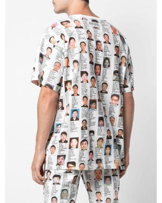 メンズ Mostly Heard Rarely Seen Mostly Wanted Tシャツ White