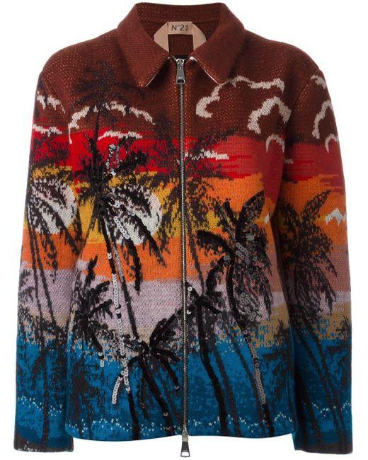 N°21 プリント ボンバージャケット Multicolor