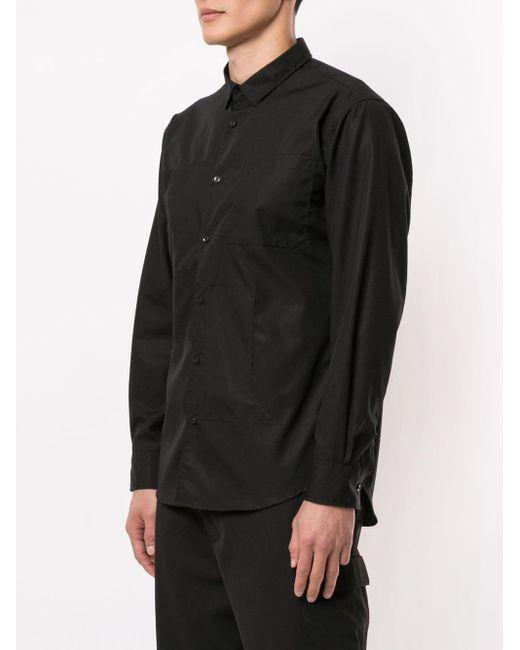 Camicia di Neil Barrett in Black da Uomo
