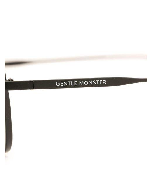 Gentle Monster Khan M01 キャットアイ サングラス Black