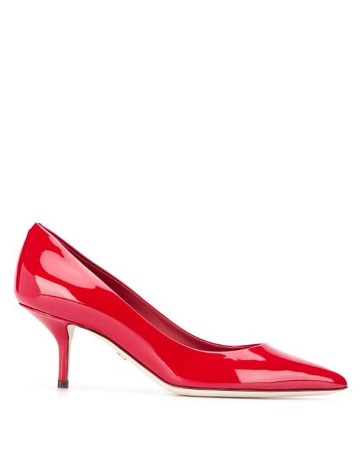 Dolce & Gabbana ポインテッドトゥ パンプス Red