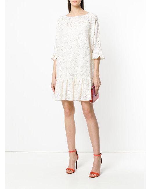 embellished lace dress - Nude & Neutrals Blugirl QvFlBmBL