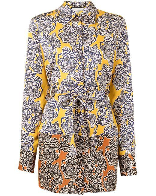Camisa Andira con motivo de cachemira Alexis de color Multicolor