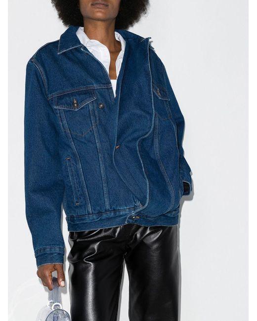 Y. Project オーバーサイズ デニムジャケット Blue