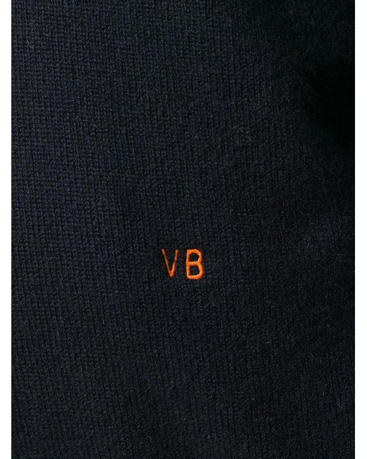 Victoria Beckham Vネック セーター Blue