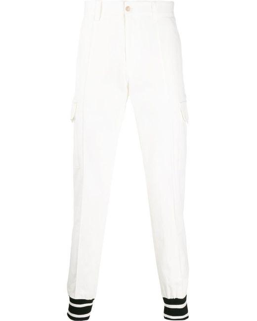メンズ Dolce & Gabbana カーゴパンツ White