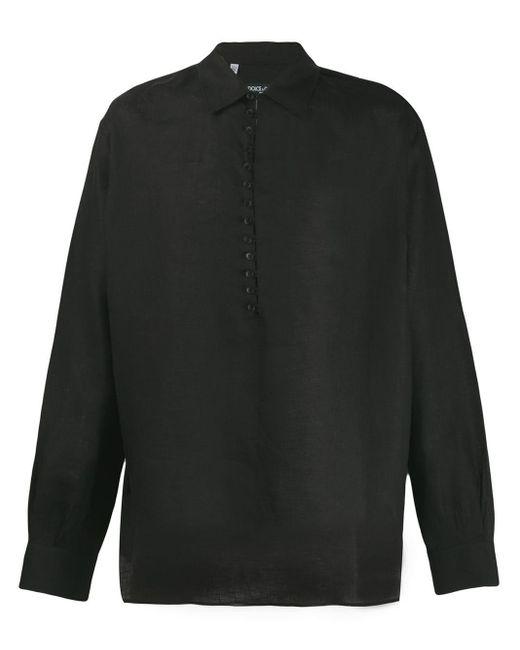 メンズ Dolce & Gabbana ボタンダウン シャツ Black