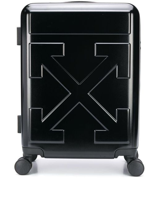 Чемодан С Логотипом Off-White c/o Virgil Abloh для него, цвет: Black