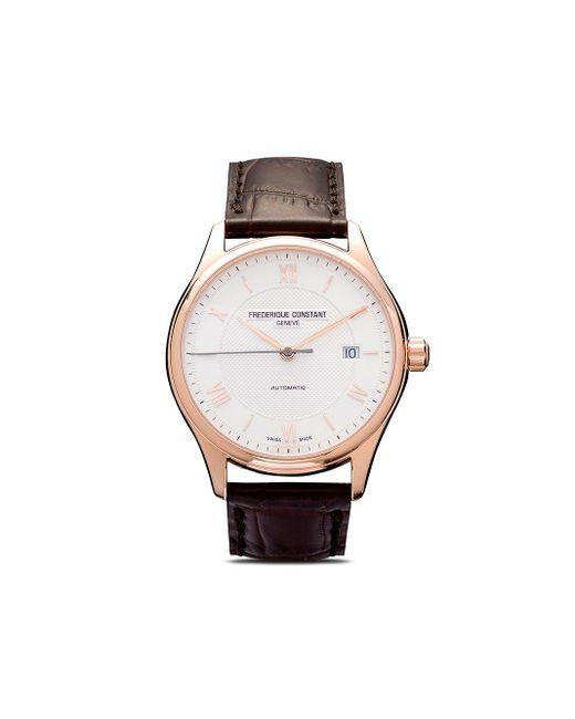 Наручные Часы Classics Index Automatic 40 Мм Frederique Constant для него, цвет: White
