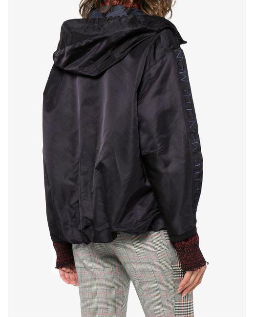 Moncler フーデッド ジップジャケット Blue