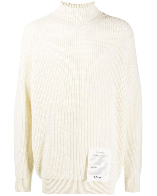 メンズ Ballantyne タートルネック カシミア セーター Multicolor