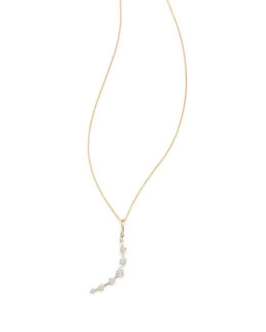 Jade Trau ダイヤモンド ネックレス 18kイエローゴールド Metallic