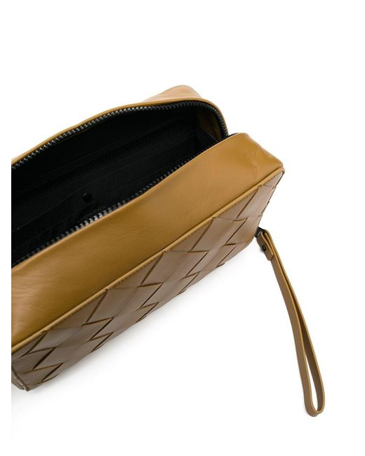 Несессер С Плетением Intrecciato Bottega Veneta для него, цвет: Brown