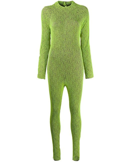 FANTABODY カットアウト ジャンプスーツ Green