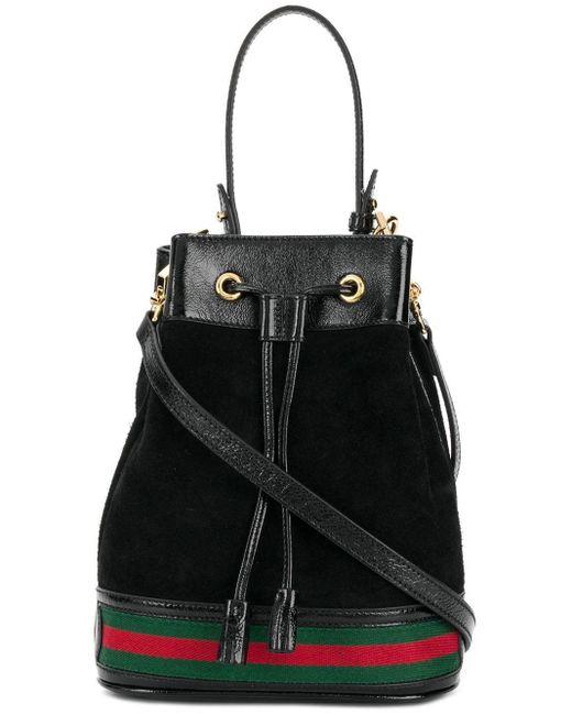 Ophidia Bucket Bag Gucci, цвет: Black