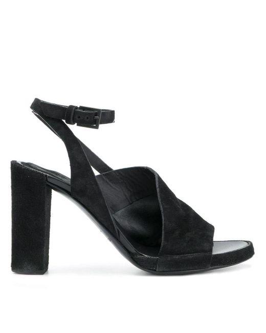Roberto Del Carlo Black 10547 Sandals