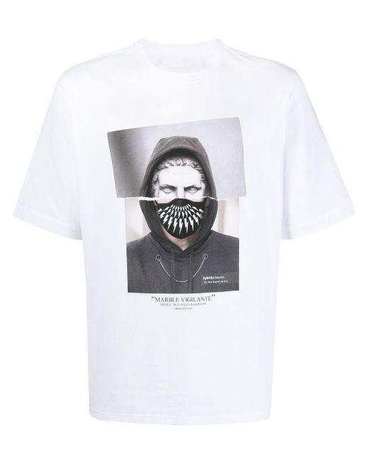 メンズ Neil Barrett グラフィック Tシャツ White