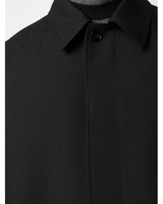 メンズ Jil Sander オーバーサイズ シングルコート Black