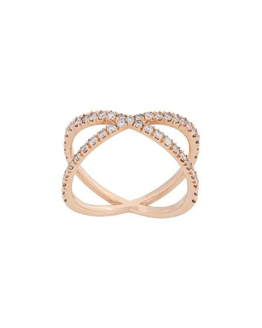 Eva Fehren - Metallic Shorty X Ring - Lyst
