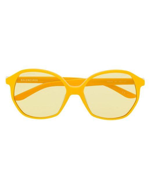 Balenciaga オーバーサイズ サングラス Yellow