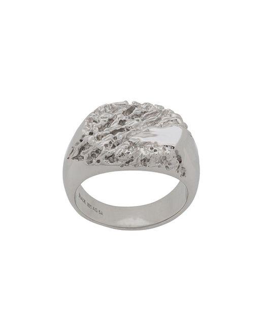 Перстень Rock Maria Black, цвет: Metallic