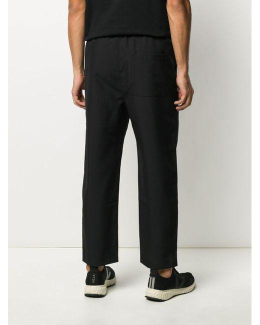 メンズ OAMC ドローストリング パンツ Black