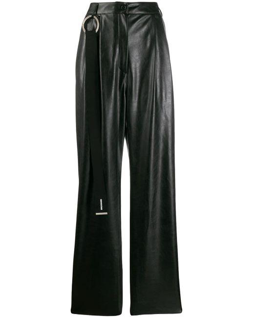 BROGNANO Black Straight-leg Trousers