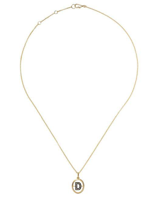 Annoushka D ダイヤモンド ペンダント ネックレス 18kイエローゴールド Metallic