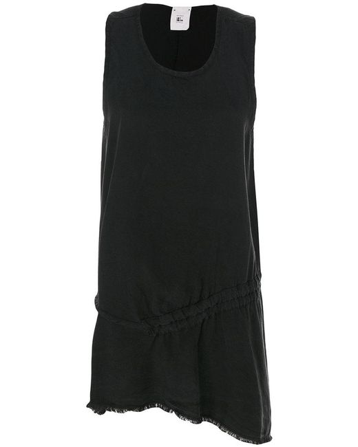Lost and Found Rooms | Black Asymmetric Tunic Top | Lyst
