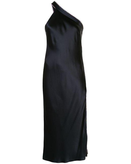 Michelle Mason ワンショルダードレス Blue