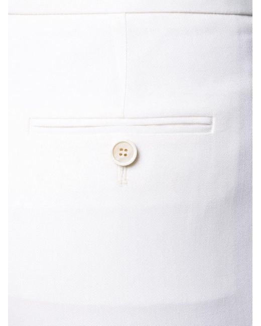 Брюки Строгого Кроя Alexander McQueen, цвет: White