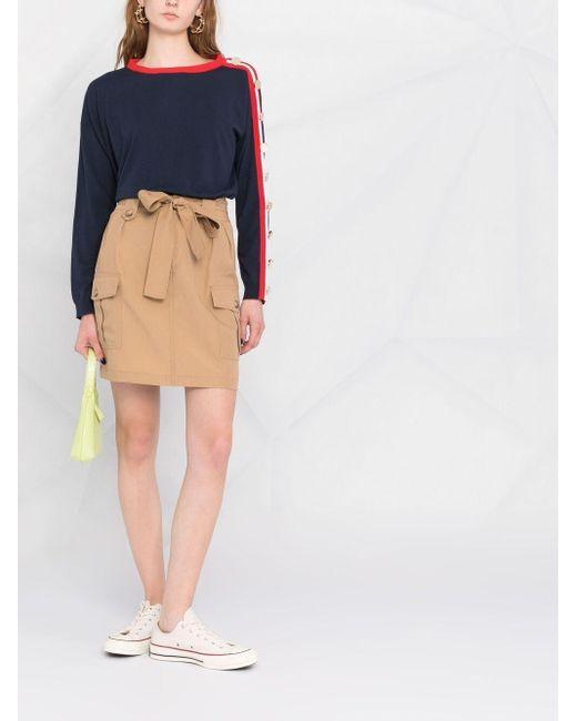 Liu Jo カーゴポケット スカート Blue