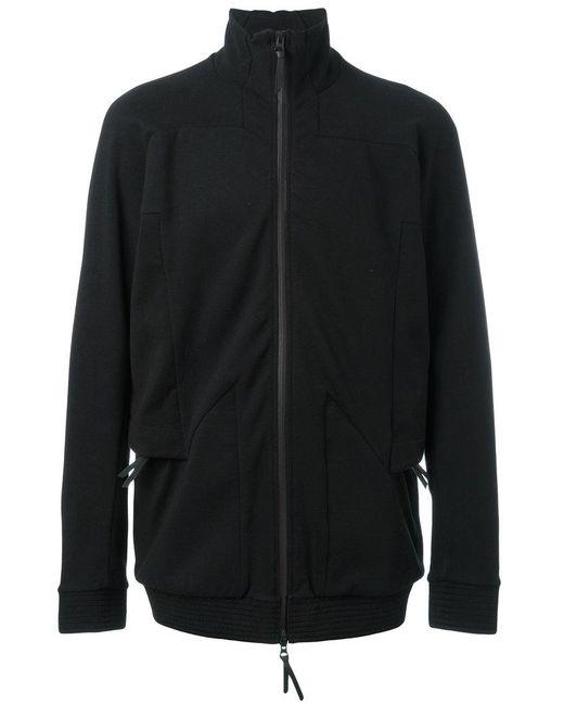 Boris Bidjan Saberi 11 - Black High Neck Zipped Sweatshirt for Men - Lyst
