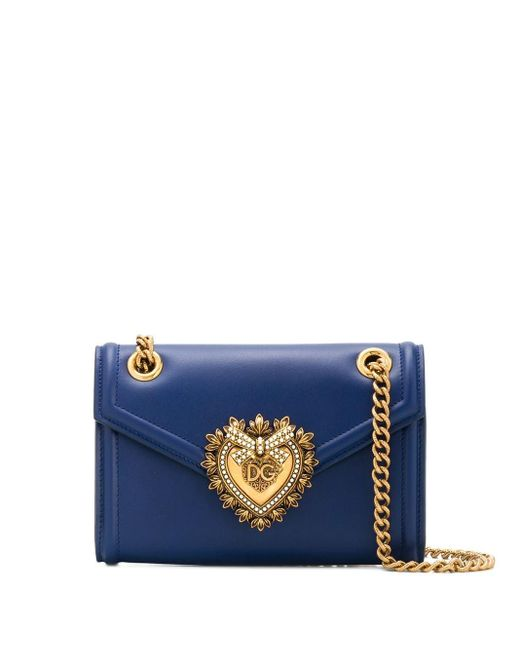 Dolce & Gabbana Devotion ショルダーバッグ S Blue