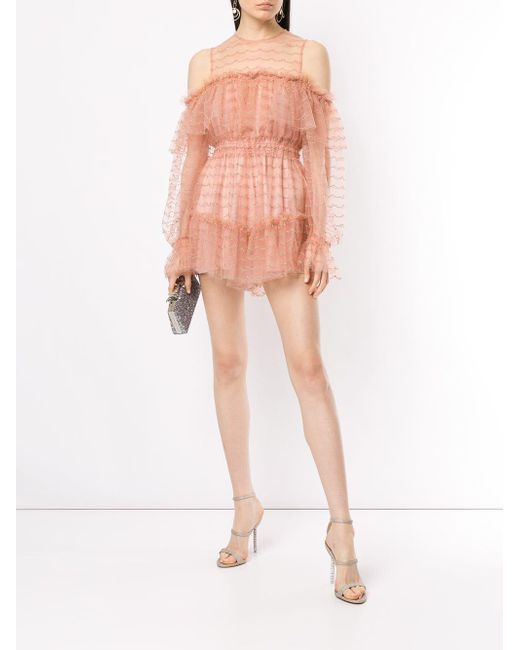 8e31164637 Lyst - Alice McCALL Venus Valentine Playsuit in Pink