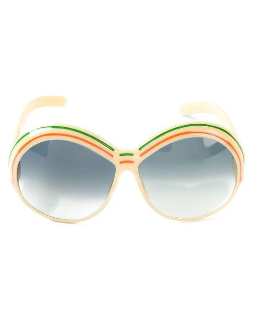 Солнцезащитные Очки В Круглой Оправе Pre-owned Dior, цвет: Multicolor