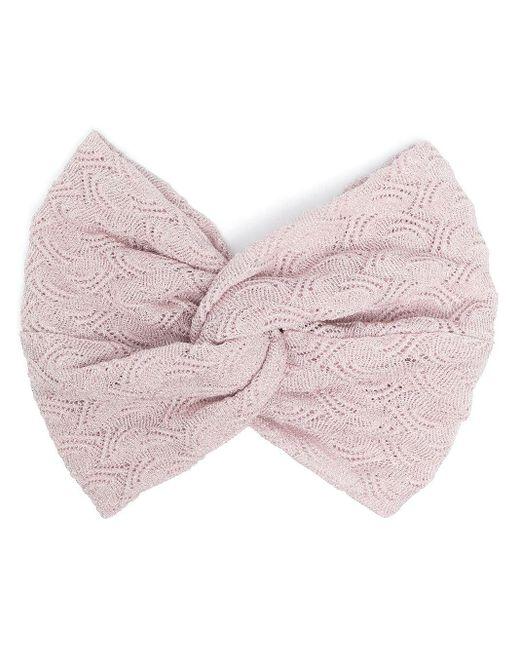 Missoni パターン ヘアバンド Pink