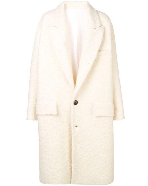 AMI オーバーサイズ コート White